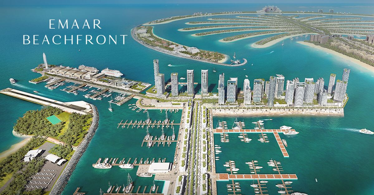Beachfront Apartments by Emaar Master Plan